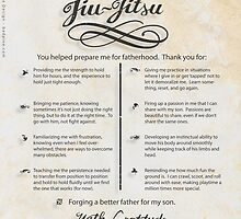 The TYJJ Manifesto (Thank You Jiu-Jitsu) SON by BadPine