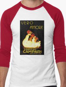 Cordial Campari Men's Baseball ¾ T-Shirt
