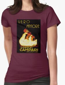 Cordial Campari Womens Fitted T-Shirt