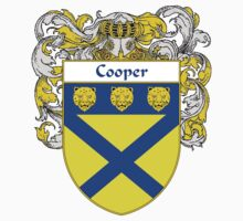 Cooper Coat of Arms/Family Crest by William Martin