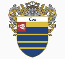 Cox Coat of Arms/Family Crest by William Martin