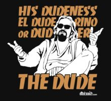 The Dude (Big Lebowski) by moseisly