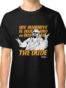 The Dude (Big Lebowski) Classic T-Shirt