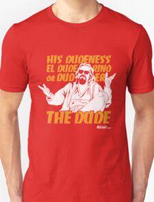 The Dude (Big Lebowski) Unisex T-Shirt