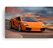 2008 Lamborghini Gallardo Superleggera II Canvas Print