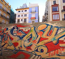 Valencia - graffiti by Emma Bennett