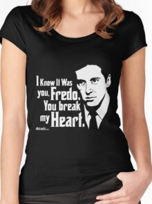 Michael Corleone (The Godfather Part 2) Women's Fitted Scoop T-Shirt