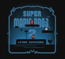 Mario 2 throwback (subspace) by temptingtragedy