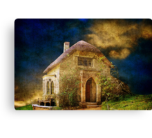 Gothic Cottage Revisited Canvas Print