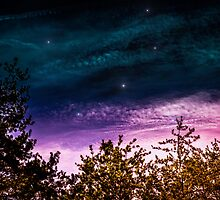 Blue Purple Universe by Roses1973