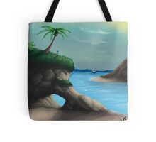 Black Flag Carribean Sea Tote Bag