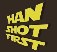 Han Shot First by HandCraftedCine