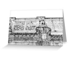 Rome's Architecture Greeting Card