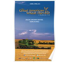 Great American Wheat Harvest Poster