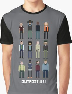 Pixel Outpost 31 Crew Graphic T-Shirt
