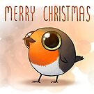 Merry Robin Christmas by Demmy