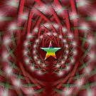 xmas star by sarandis