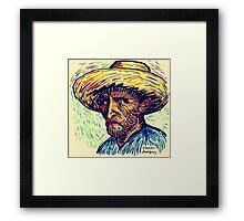 Vincent Portrait Framed Print