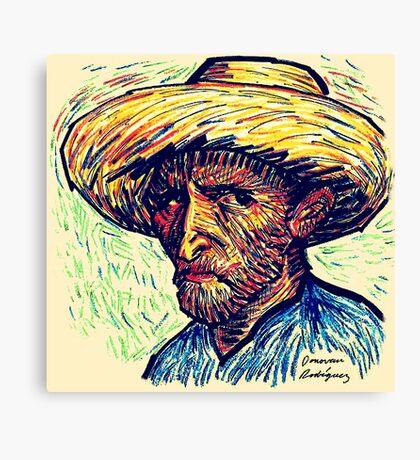 Vincent Portrait Canvas Print