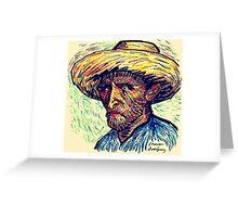 Vincent Portrait Greeting Card