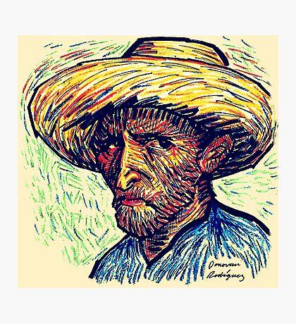 Vincent Portrait Photographic Print