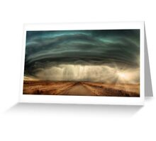 Super Cell Storm Greeting Card