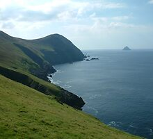 Atlantic Ocean, Blasket Islands, Ireland by Maire Morrissey-Cummins