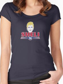 "Eli ""Sheli"" Manning  Women's Fitted Scoop T-Shirt"