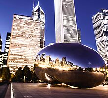 The Bean at Full Tilt by Greg Riegler