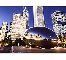 The Bean at Full Tilt Photographic Print
