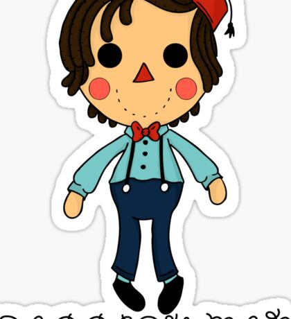 Raggedy Man Sticker