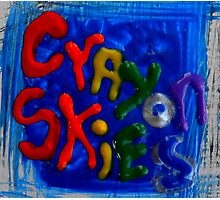crayon skies Photographic Print
