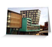 Riverside Apartments, Sheffield Greeting Card