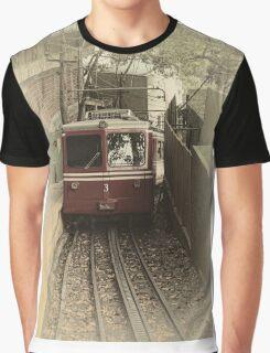Corcovado Rack Railway Graphic T-Shirt