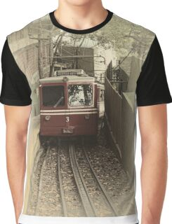 Corcovado Rack Railway Graphic T-Shirt