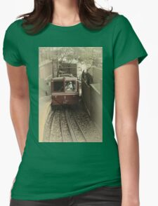 Corcovado Rack Railway Womens Fitted T-Shirt
