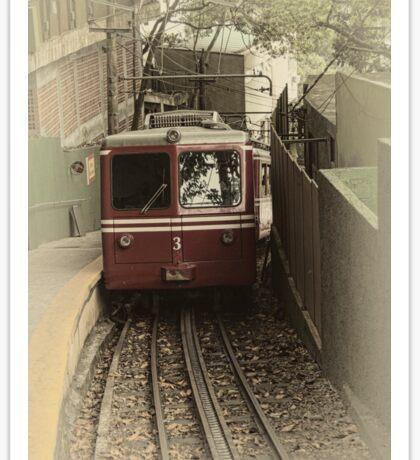 Corcovado Rack Railway Sticker