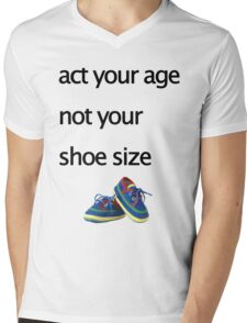 shoes Mens V-Neck T-Shirt