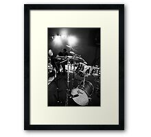 Music repetition Framed Print