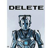Delete Photographic Print