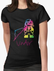 Weird Fucked Up Vader Mario Womens Fitted T-Shirt