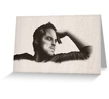 Andrew Scott Greeting Card
