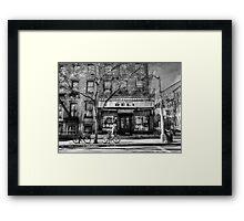 the Corner Deli Framed Print