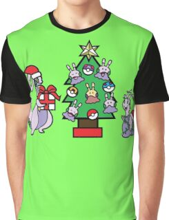 Deck The Halls with PokeBalls and Goomys~ Graphic T-Shirt