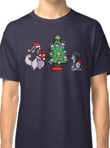 Deck The Halls with PokeBalls and Goomys~ Classic T-Shirt
