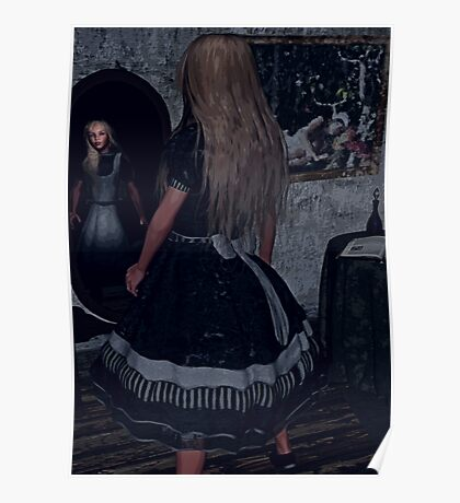 Looking Glass Alice Poster