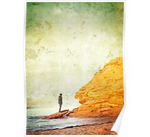 Red Cliffs of Prince Edward Island Poster
