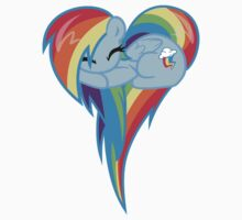 Rainbow Dash Heart by marebear141
