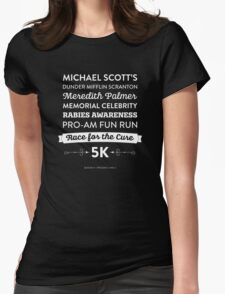 The Office - Rabies Awareness Fun Run Womens Fitted T-Shirt