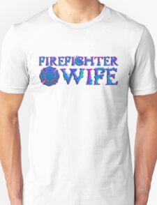 Firefighter Wife Maltese Cross T-Shirt